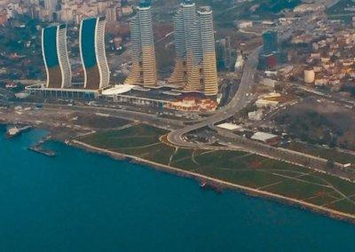 איסטנבול טורקיה מהמטוס